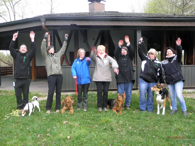 Rally Obedience Gruppe